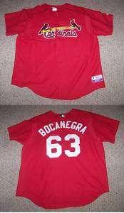 BOCANEGRA #63 St. Louis Cardinals Baseball Jersey