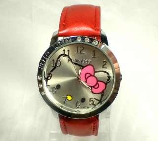 PCS Wholesale HelloKitty Watch Lovely Big Dial Ladies Quartz
