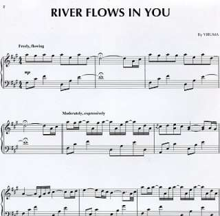 Yiruma river flows in you einzelausgabe für klavier piano neu