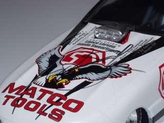 DEAN SKUZA 1/24 DIE CAST AUTOGRAPHED 20TH ANNIV MATCO TOOLS DODGE