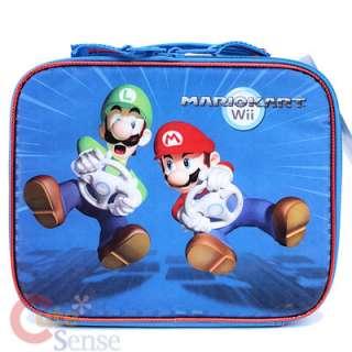 Nintendo Wii Super Mairo Kart School Lunch Bag  Insulated Box