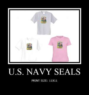 NAVY SEALS USA GIFT T SHIRT PATRIOTIC MILITARY WO