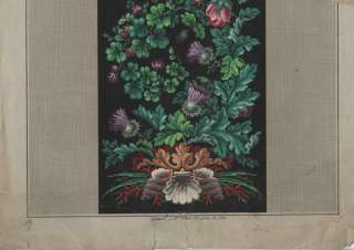 ANTIQUE BERLIN WOOLWORK HAND PAINTED EMBROIDERY PATTERN
