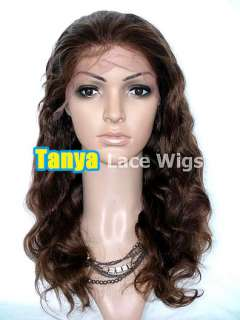 12 short Indian Remy Human Hair Lace Front / Full Lace Wigs