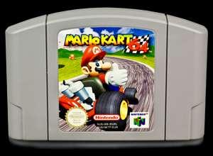 Nintendo 64 Spiel MARIO KART 64 0045496360078