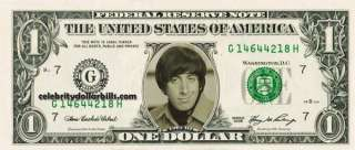 BIG BANG THEORY HOWARD WOLOWITZ CELEBRITY DOLLAR BILL MINT US CURRENCY