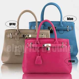 Elegant Lady Retro Zip Golden Lock bag womens handbag w77