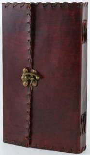 Large 1842 Poetry Leather Bound Book of Shadows!