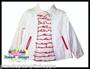 LOOK NWT GIRLS BEETLEJUICE POPPY LOVE COLLECTION JACKET SIZE 4