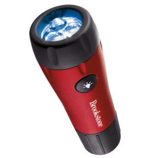 Twist Light LED Flashlight, No Batteries Required from Brookstone