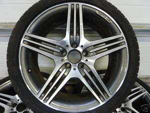 4x 19 MERCEDES AMG STYLING VII CLS W219 TOP 95% SOMMER