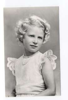 p6863   young Princess Anne   Royalty postcard