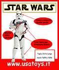 Costume STORMTROOPER ADULTO Rubies TG 54/56 CARNEVALE STAR WARS GUERRE