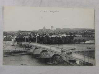 CPA 40 LANDES DAX VUE GENERALE CIRCA 1900 1920