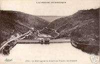 63   cpa   Barrage de la SIOULE au Viaduc des FADES