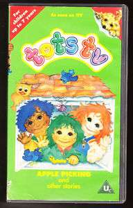 TOTS TV   APPLE PICKING + OTHER STORIES   VHS PAL (UK)