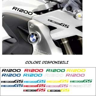 KIT 4 ADESIVI STICKERS BMW R 1200 GS moto R1200GS DECAL