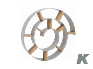 Mobile da Parete Porta CD a Spirale Kare Design SNAIL
