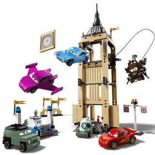 LEGO Disney Pixar Cars 2 Big Bentley Bust Out (8639)   LEGO   Action