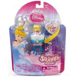 Squinkies Disney Princess Belle Light Up Ring Set: Toys & Games