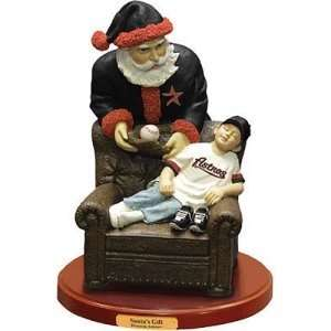 Houston Astros MLB Santas Gift Figurine: Sports