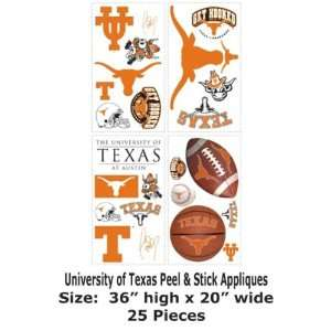 Wallpaper York RoomMates University of texas Peel & Stick