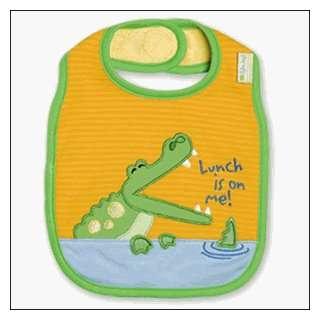 Stephen Joseph Alligator Baby Bib