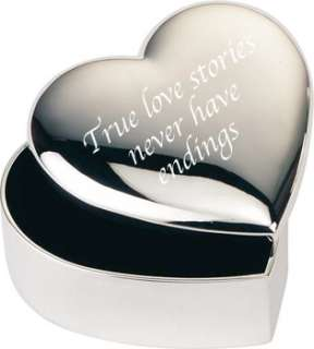 True Love Stories Never Have Endings Valentines Trinket