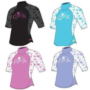 Girls osprey cabrillo rash vests kids rash guard