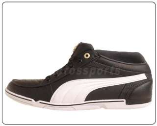 Puma 65cc Ducati Black White 2011 Mens New Motor Sport Casual Shoes