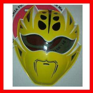 POWER RANGER JUNGLE FURY MASCHERA CARNEVALE COSPLAY