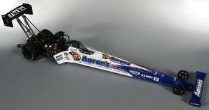AUTO WORLD 1/24 ANTRON BROWN 2011 AARONS NHRA TOP FUEL DRAGSTER