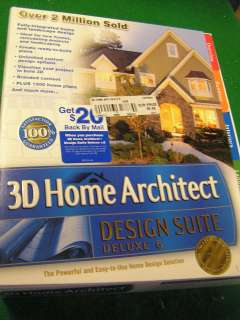 Broderbund 3d Home Architect Design Suite Deluxe 6 Old Version Home Design Ideas