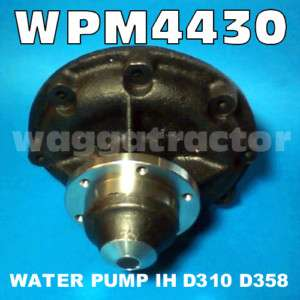 Water Pump International IH 766 866 Tractor Truck D358