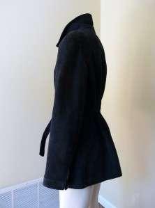 Navy Blue SUEDE JACKET from Estate of Jennifer Jones FABULOUS