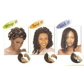 Janet Collection Afro Kinky Twist Bulk 24 Color M1b/33 Off Black Dark