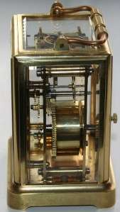 ONE PIECE FRENCH CARRIAGE CLOCK RESTORED 1840