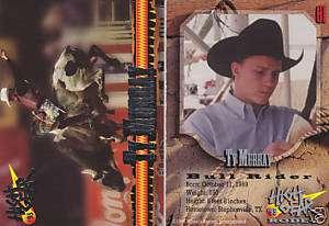 TY MURRAY PBR 1995 HIGH GEAR RODEO CARD #61 BULL RIDER