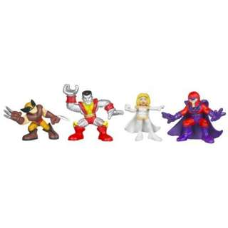 Marvel Super Hero Squad Theme Pack   X Men Toys & Games