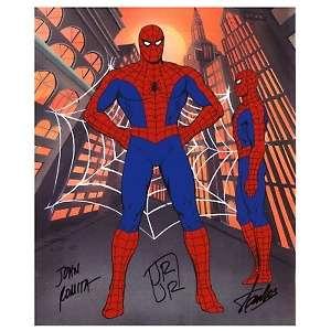 Marvel Comics Spider Man 2 Pose Model Cel