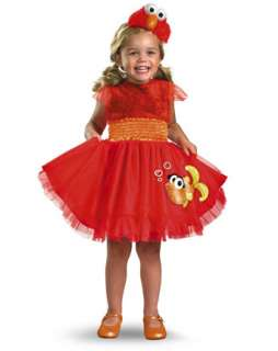 Toddler Frilly Sesame Street Elmo Costume  Infant/Toddler TV and
