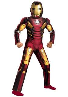 Kids Avengers Iron Man Light Up Costume   The Avengers Costumes
