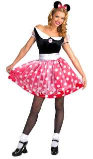 Adult Minnie Mouse Costume   Authentic Disney Mickey Mouse Costumes