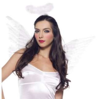 White Deluxe Feather Angel Accessory Kit (Adult), 34140