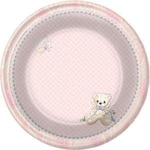 Precious Moments Baby Girl Dessert Plates, 82550