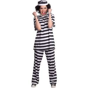 Female Prisoner Adult Costume, 68299