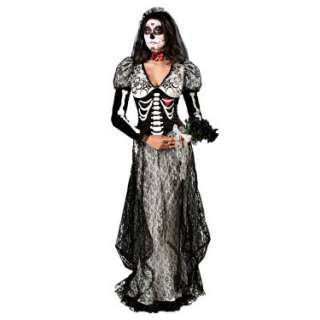 Halloween Costumes Day Of The Dead Bride Adult Costume