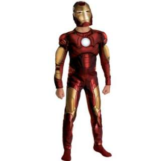 Halloween Costumes Iron Man 2008 Movie Muscle Chest Child Costume