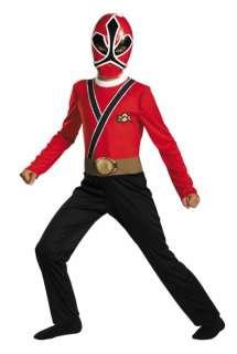 Red Ranger Samurai Costume   Family Friendly Costumes