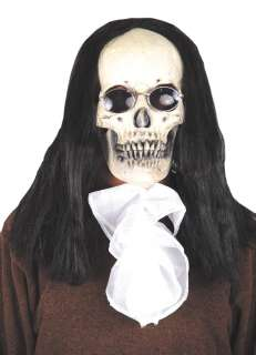 Adult Deluxe Gothic Shakespeare Skull Mask   This is a chic piece of